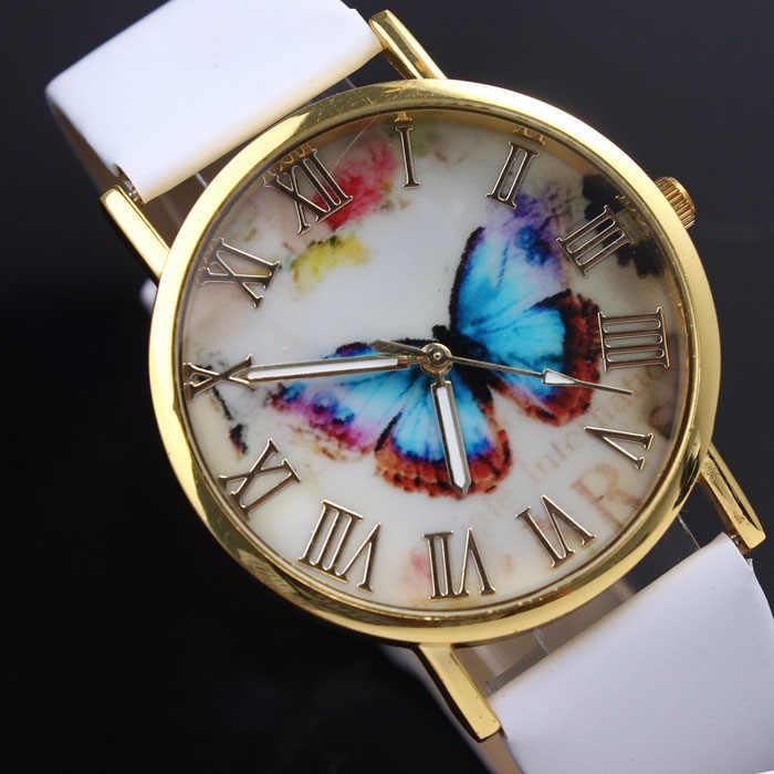 עדין שעון נשים שעון NewHot בנות צמיד שעון נשים בצע חלום מילות דפוס עור שעון Relogio Feminino Mujer
