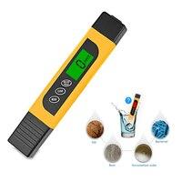 TDS прибор для измерения радиочастотного диапазона качества воды 0-9999ppm для тестирования твердости Чистота воды LO88