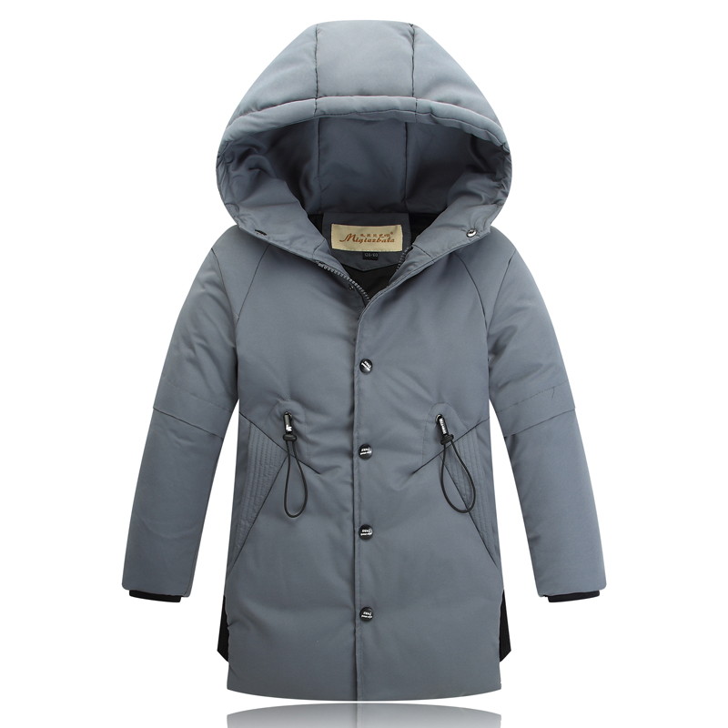 3-14Y Boys Winter Coat Made of 80% White Duck Down Warmly Casual Children Winter Jackets boys winter jackets 80