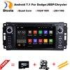 "HD 6.2"" 2G RAM Android 7.11 CAR DVD player FOR JEEP Concorde/Dakota/Durango/Interpid car audio stereo Multimedia GPS Head unit"