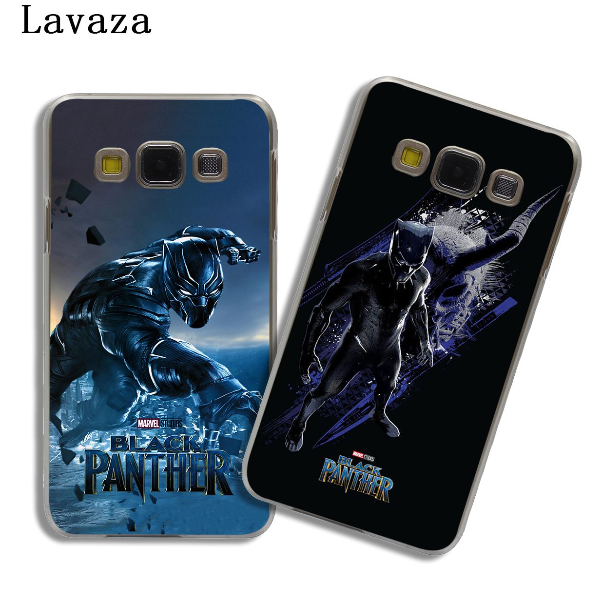4b7f2dfe310 Lavaza Marvel Comics Black Panther Hard Phone Case Shell for Samsung Galaxy  A3 A5 2017 A9 A8 A6 Plus 2018 Note 8 9 Cover-in Half-wrapped Case from ...