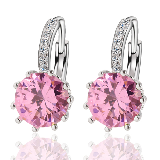 Beautiful Luxury Crystal Stud Earrings