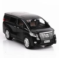 1:24 Diecasts & Toy Vehicles Alphard Car Model With Sound&Light Collection Car Toys For Boy Children Gift brinquedos