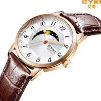 EYKI 남성 시계 여성 최고 브랜드 레드 정품