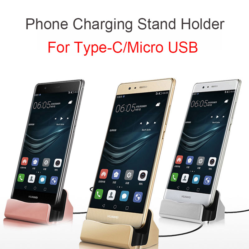 Charger-Holder Stand-Station Data-Phone Desktop Huawei Xiaomi Samsung No for Redmi Note-7