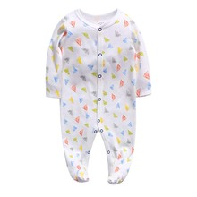 Newborn baby pajamas cotton romper boys clothes overalls infants bebes jumpsuit premature infant