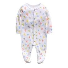 Newborn baby pajamas cotton romper boys clothes overalls infants bebes jumpsuit premature infant