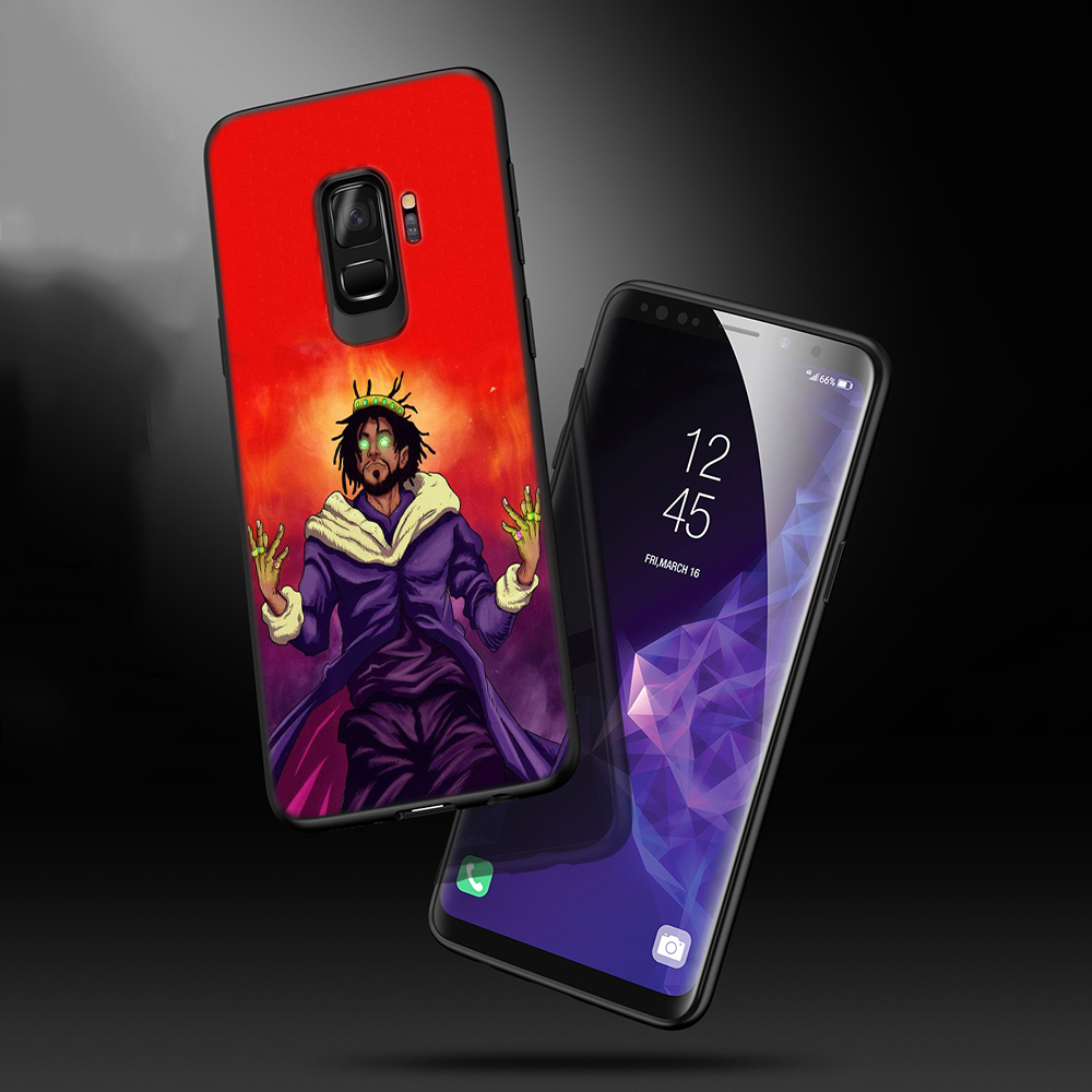 Lavaza OMB Peezy j cole Soft Phone Cover for Samsung Galaxy S8 S9 S10 Plus A6 A8 A9 2018 A30 A50 TPU Case in Fitted Cases from Cellphones Telecommunications