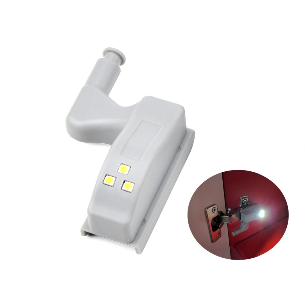 led luces del gabinete w armario armario puerta bisagra interior interruptor sensor de luz automtico