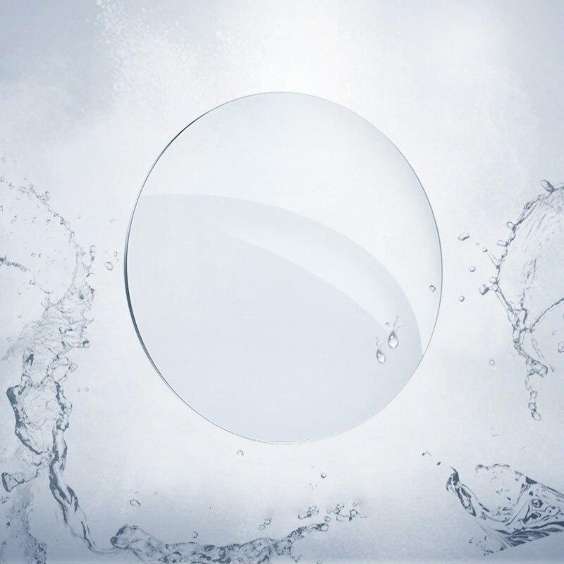 1.74 lentilles de Prescription optiques asphériques minces Ultra minces à indice élevé lentilles de myopie lentilles optiques protection UV Anti-rayonnement - 5