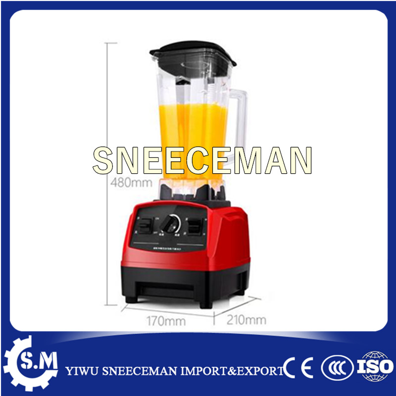 Factory directly kitchen ice crusher fruit crusher and juicer fruit ice cream feeder from factory selling gelato fruit nuts mixer