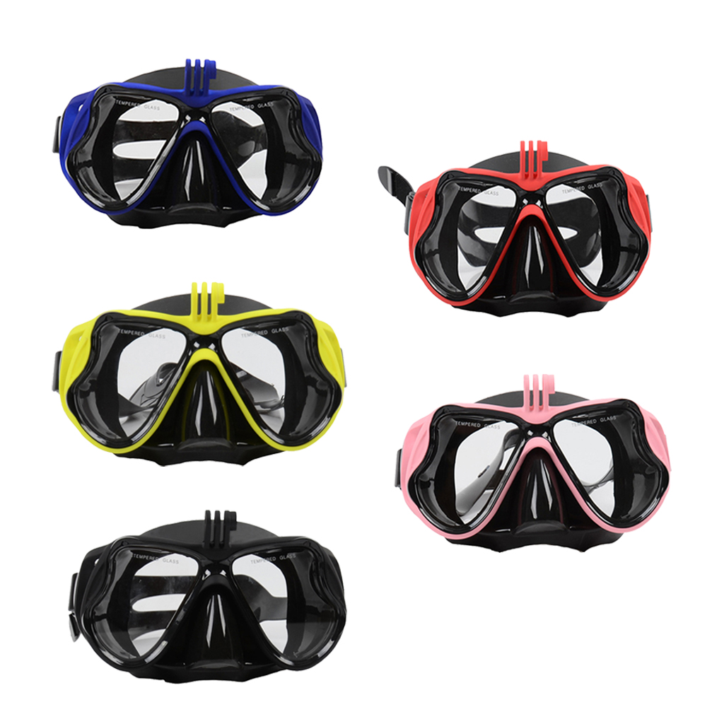 Scuba Diving Mask Anti-fog Tempered Glass Swimming Diving Snorkeling Mask for Men Women Swim Goggles Water Sports Equipment
