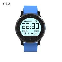 Yibu touch браслеты SmartWatch IP67 Водонепроницаемый Bluetooth Спорт Smart Watch с сердечный ритм трекер Шагомер для iOS и Android