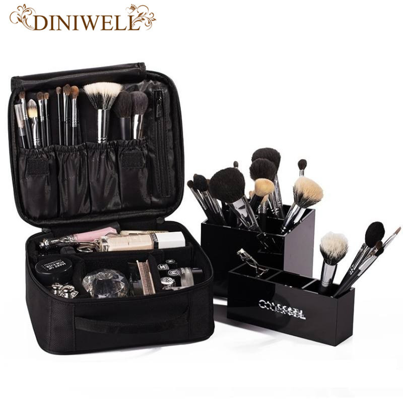 New Arrival Professional Make Up Package Bag Nail Pattern Semi Permanent Tool Box Cosmetic Case Bags