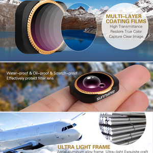 Image 5 - Drone Filter Voor Dji Osmo Pocket/2 ND4 8 16 32 64PL Filters Packet 2 Protector Verstelbare Neutral Density polar Accessoires
