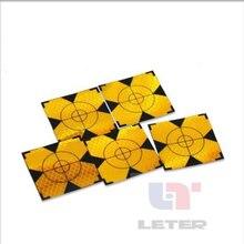 100 шт. желтый отражатель лист 60x60 мм Светоотражающая Целевая лента для всего
