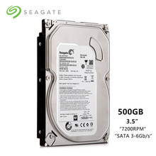 "Seagate Brand 500GB Desktop PC 3.5"" Internal Mechanical Hard disk SATA 3-6Gb/s HDD 500 GB 7200 RPM 8 MB / 32 MB Buffer(China)"