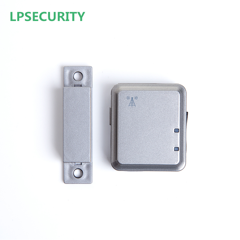 LPSECURITY Quad Band GSM Magnetic Alarm WIRELESS DOOR WINDOW GAP CONTACT SENSOR/AUTO DIAL GSM ALARM SYSTEM arduino atmega328p gboard 800 direct factory gsm gprs sim800 quad band development board 7v 23v with gsm gprs bt module