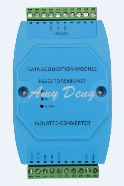 Acve photoelectric isolaon converter RS232 485 with baud rate adapve status indicatorAcve photoelectric isolaon converter RS232 485 with baud rate adapve status indicator