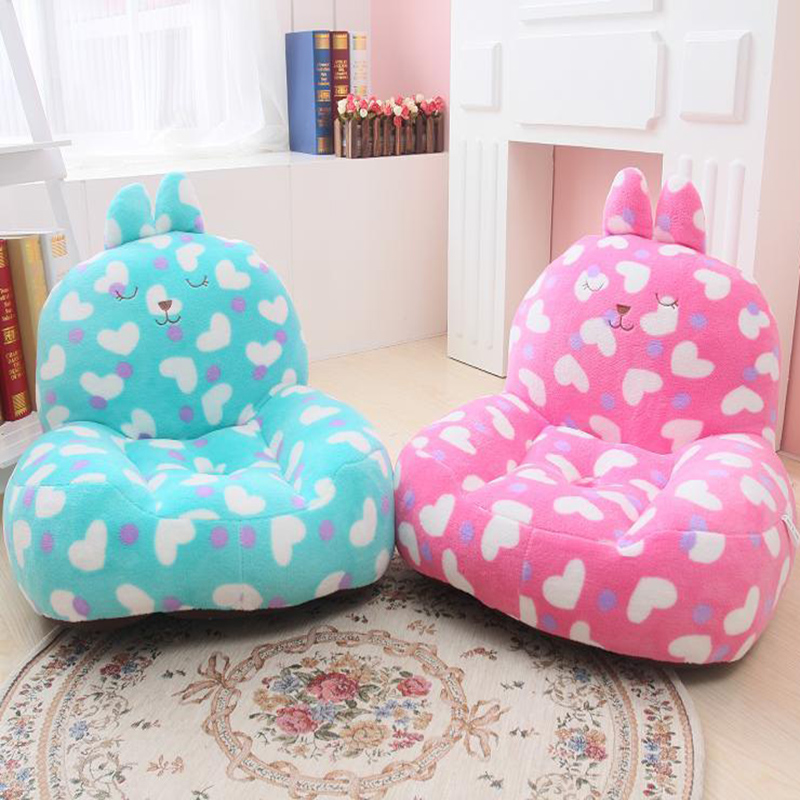 2016 Children's cartoon love rabbit hole sofas, plush home child beanbag tatami, washable, free shipping down the rabbit hole