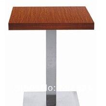 Журнальный столик, основание из нержавеющей стали и МДФ лучших, kd упаковка 1 шт./коробка, быстрая