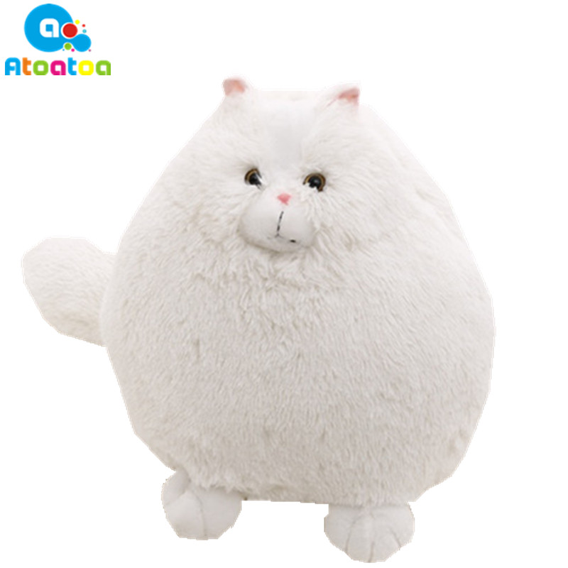 Fat Pet Cats Persian Cat Plush Toy 30/50 cm Pembroke Pillow Plush Toys Soft PP Cotton Stuffed Brinquedos Kids Gift