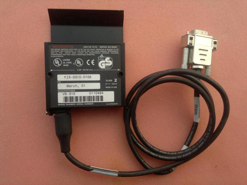 Microscan VS-310  FIS-0310-0105  used in good condition vs s720 10g 3cxl куплю
