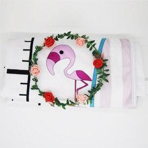 Image 5 - Ylsteed Baby Milestone ผ้าห่มเด็กแรกเกิด Photo Props แผนภูมิความสูงสัตว์พิมพ์ผ้าห่มเด็กทารกแรกเกิดถ่ายภาพพื้นหลัง