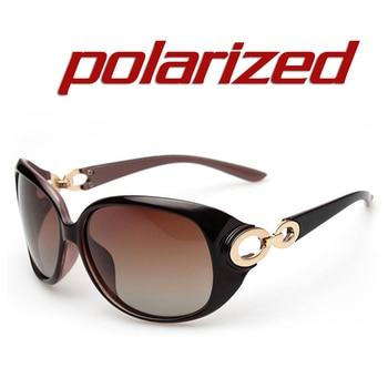 JULI New Women Sunglass Fashion Sun Glasses Polarized Gafas Polaroid Sunglasses Women Brand Designer Driving Oculos 122C