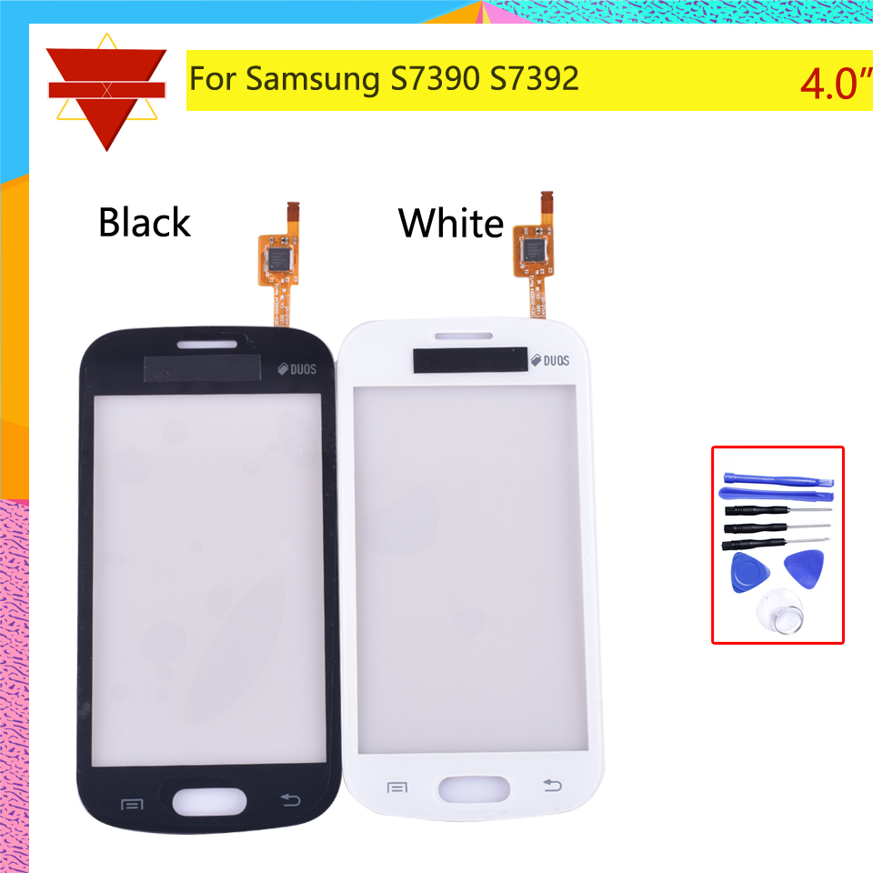 4.0''Touch Panel For Samsung Galaxy Trend Lite S7390 7392 GT-S7390 S7392 Touch Screen Digitizer With Flex Cable Not LCD Display