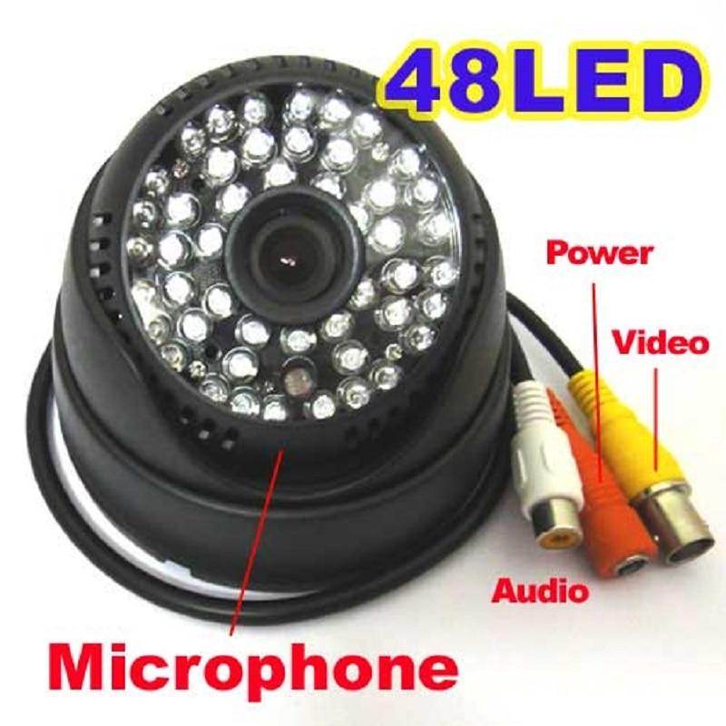 HD 800TVL Cheap Mini Security CCTV Camera CMOS IR-Cut Night Vision Audio 3.6mm 1080p Lens Analog Home Video Surveillance Cam newest mini security cctv camera cmos 380tvl audio video a v ir day night pal ntsc
