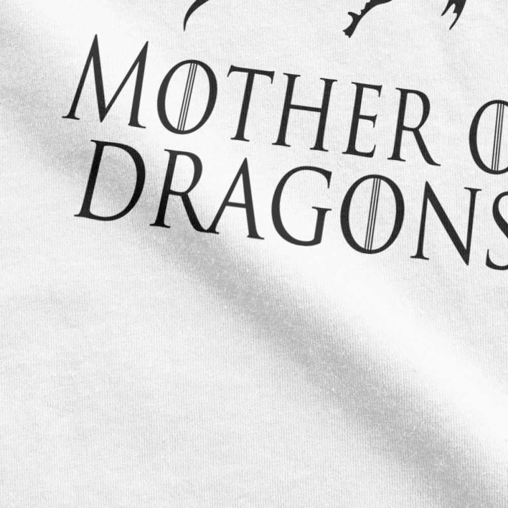 Men 39 s T Shirt Mother Of Dragons Game Of Thrones Graphic T Shirt Short Sleeve Daenerys Targaryen Tees O Neck 100 Cotton Tops in T Shirts from Men 39 s Clothing