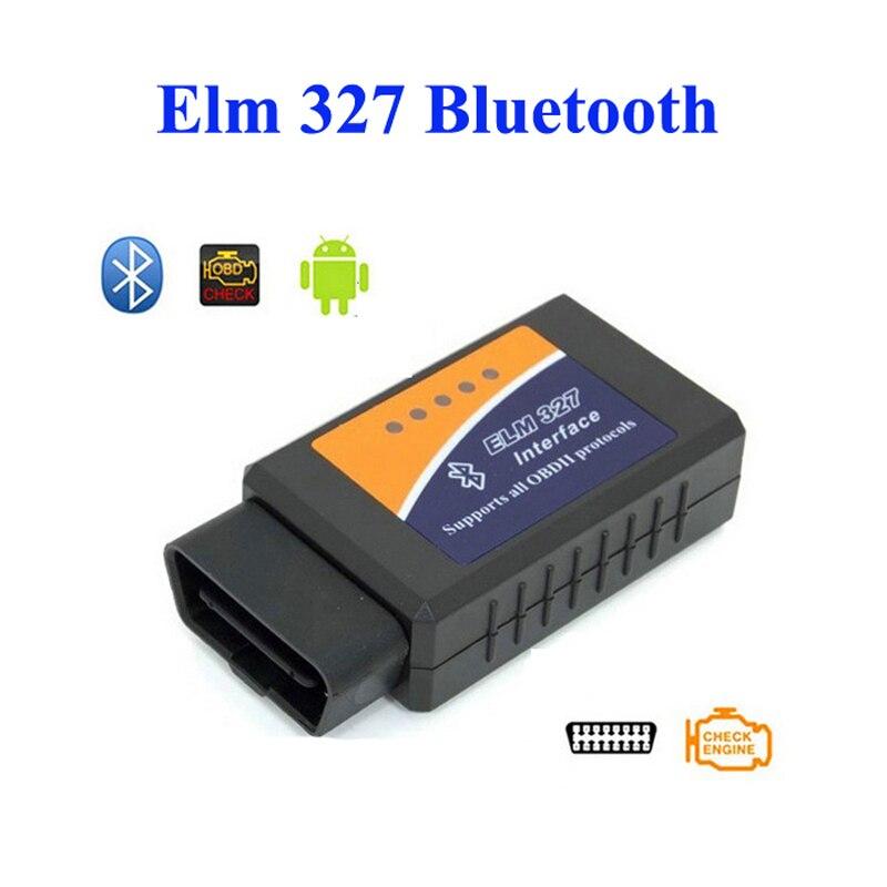 ELM327 V1.5 Hardware Bluetooth OBDII / OBD2 Scanner ELM 327 Vehicle Diagnostic Tool 1.5