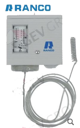 thermostat temperature range -18 up to +13C difference low range 1.7-7Cthermostat temperature range -18 up to +13C difference low range 1.7-7C