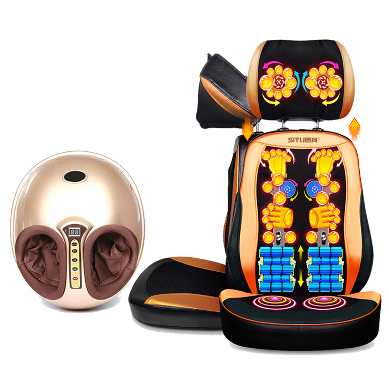 Electric Foot Care Tool Massager and Back Costume for Sales Russia Free Shipping electric antistress therapy rollers shiatsu kneading foot legs arms massager vibrator foot massage machine foot care device hot