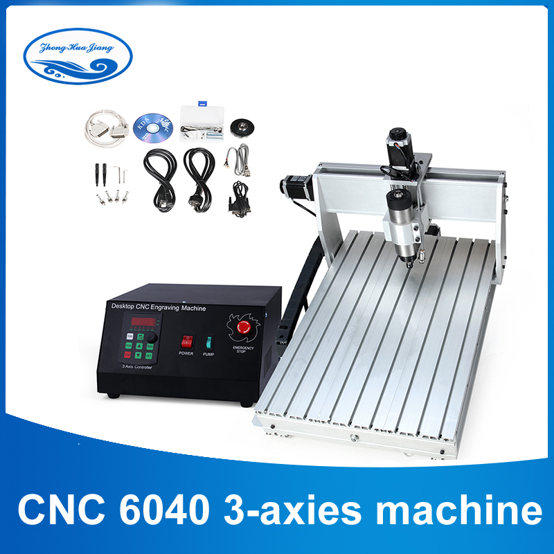 CNC 6040 2.2KW 3 axis CNC router CNC wood carving machine USB Mach3 control Woodworking Milling Engraver Machine with Cooled/Air acctek high quality cnc 4 axis wood mach3 6040 6090 6012 cnc engraving machine usb for wood stone aluminum