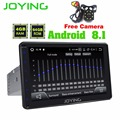 JOYING 4GB+64GB 8 One Din Android 8.1 with free Rear View Camera Autoradio Tape Recorder Support Video output/DSP/Apple Carplay