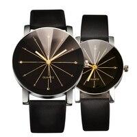 High Qualty Quartz Watches Arrival Men Women S Dial Clock Leather Bracelet WristWatch Geometry Sports Watch