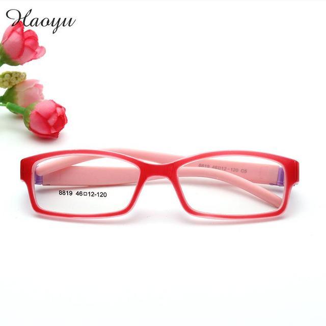 haoyu Child Plastic Titanium Optical Glasses Frames Boys Girls kids ...