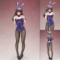25/44cm Anime Saenai Heroine No Sodatekata Kasumigaoka Utaha Bunny Girl Sexy Girl Pvc Action Figure Toys Kasumigaoka Utaha Model