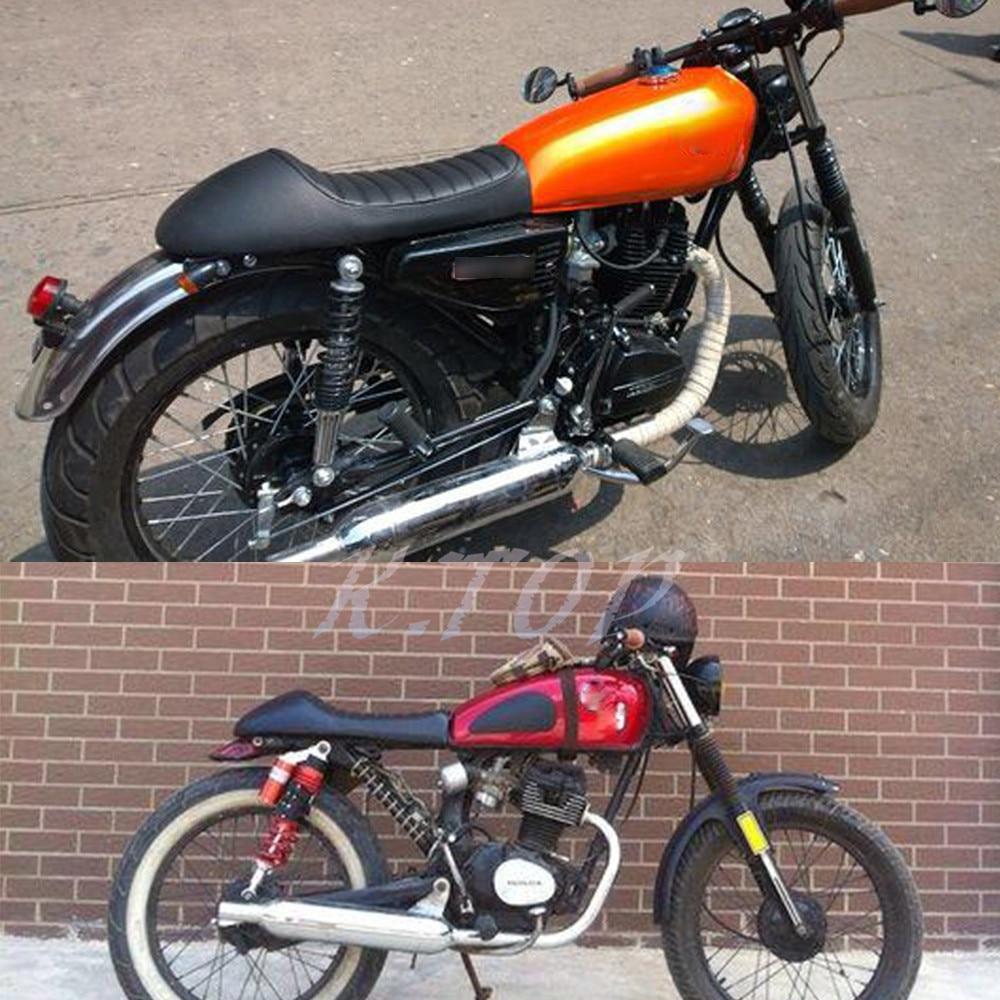 1 Set Vintage Hump Cafe Racer Seat For Honda CB200 CB350 CB400 CB500 CB550 CB750 Motorcycle On Aliexpress