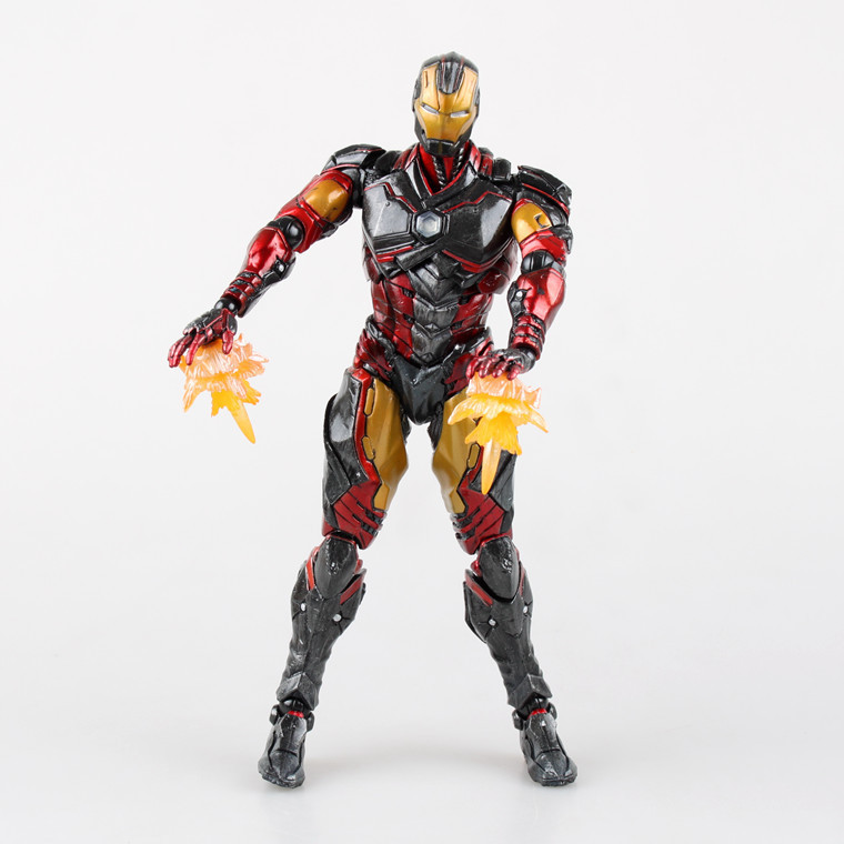Huong Movie Figure 35CM SQUARE ENIX Variant Play Arts Kai Iron Man PVC Action Figure Collectible Model Toy