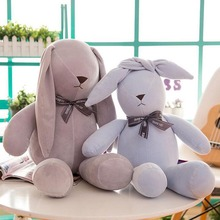 Lovely Rabbit Plush Toy Down Cotton Stuffed Animal Rabbit Plush Doll Gift For Children Kids lovely rabbit plush toy stuffed animal rabbit doll soft plush pillow children birthday gift