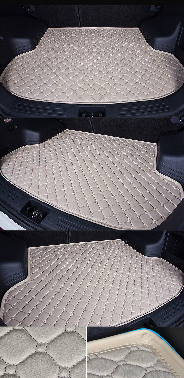 Custom Special Car Trunk Mat for BMW 3 series gt320i 328 Waterproof Durable Cargo Rugs Carpets