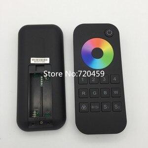 Image 5 - Controlador remoto RF inalámbrico RGBW/RGB/CCT/Dimming + 2,4 GHz, controlador RF de 4 canales para LED RGB/RGBW, tira de luz LED RGB + CCT V5