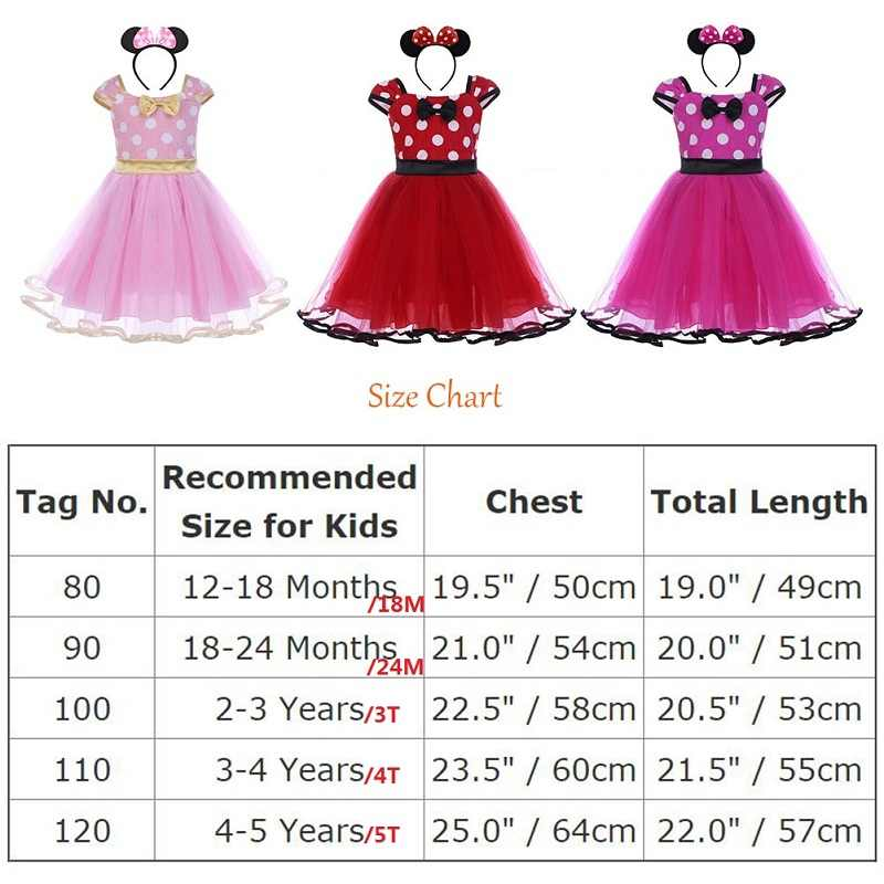 94808d77f ... 2pcs Set Toddler Baby Girls Clothes Polka Dot Tulle Minnie Mouse Dress  Headband Princess Birthday Mickey ...