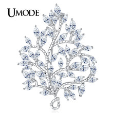 UMODE Large Vintage Maple Leaf Brooch Pin Plant Costume Jewelry For Women  Wedding Party Banquet Brooches Christmas Gifts UX0032 32d344d6fa67