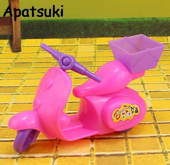Anak-anak Mainan Anak Permainan Rumah Boneka Aksesoris Sepeda Motor untuk Rumah  Boneka Barbie untuk 0dbd11ef27