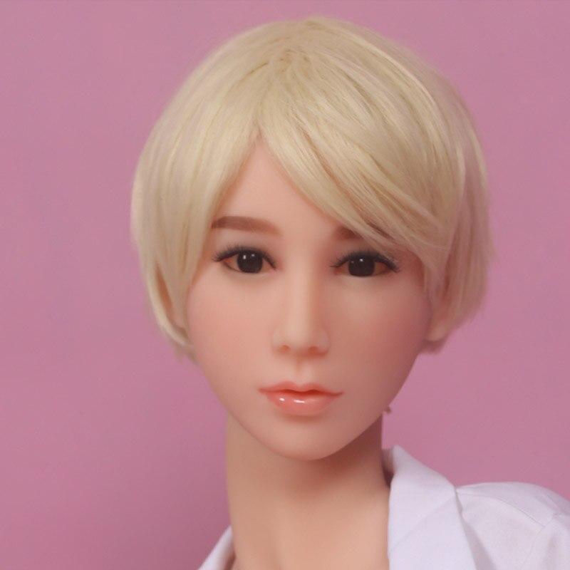 Новый 18 # японский силиконовые секс куклы Глава азиатские лица wmdoll высокого качества для 145 см до 168 см TPE куклы
