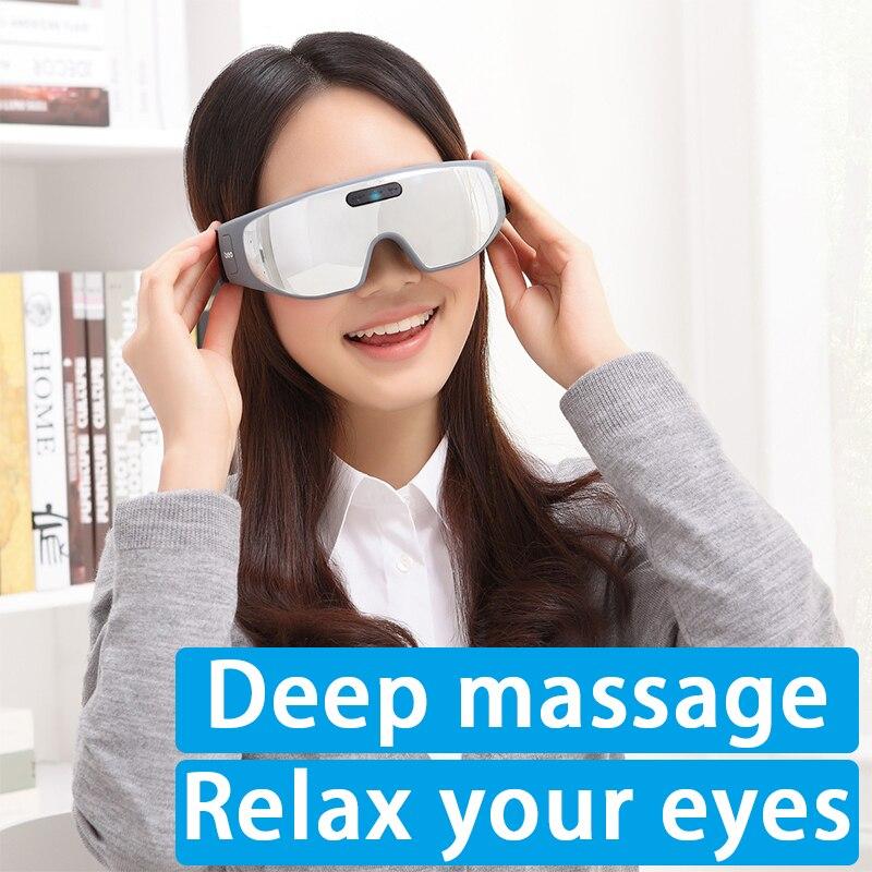 Eye massager eye massage eye massage eye protection instrument beurha usb dc eye massage device eye massage instrument eye protection instrument anti black eye myopia 3 types of power supply